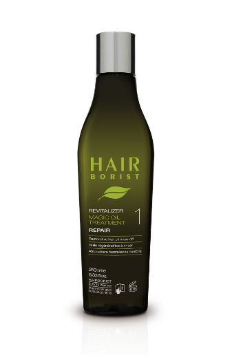 Repair natural hair oil treatment for dry, lifeless hair