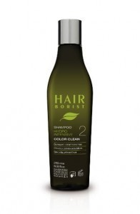 Protective shampoo chemically color-treated hair