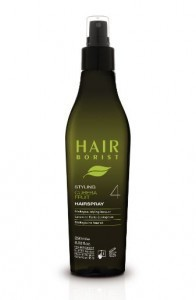 LAQUE COIFFANTE NATURELLE HAIRSPRAY HAIRBORIST