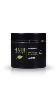 Natural hair gel with Aloe Vera