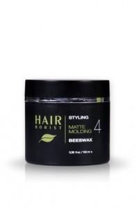 Natural Styling Hair Wax, Beeswax