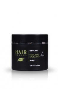 natural styling hair wax